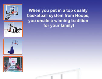 Since 1985 - Hoops Quality and Service - A family tradition